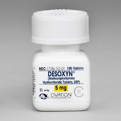 Desoxyn Methamphetamine Hydrochloride Tablets USP